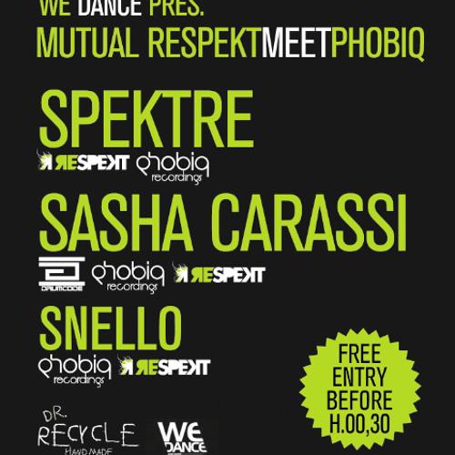 Sasha Carassi Live @ Duel Beat (Mutual Respekt meets Phobiq - Napoli - 10.03.2012)