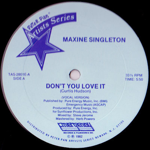 Maxine Singleton - Don't You Love It (Beaten Space Probe Re-Edit)