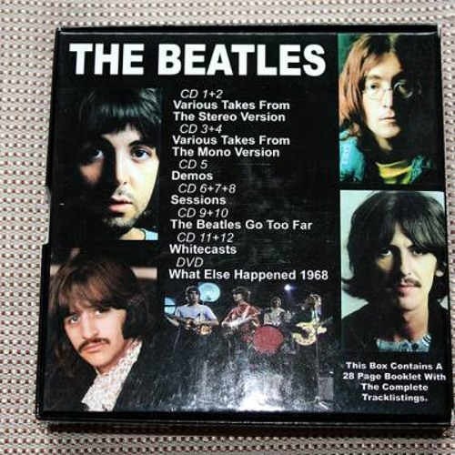 The Beatles - While My Guitar Gently Weeps / Minus Organ, Drums &Guitars / White Album Sessions