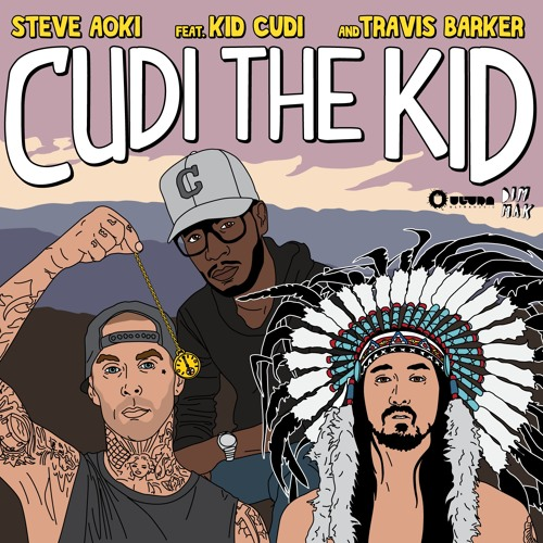 Steve Aoki - Cudi The Kid ft. Kid Cudi & Travis Barker (Kissy Sell Out's Style From The Dark Side)