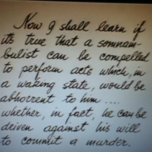 Caligari - der Somnabulist