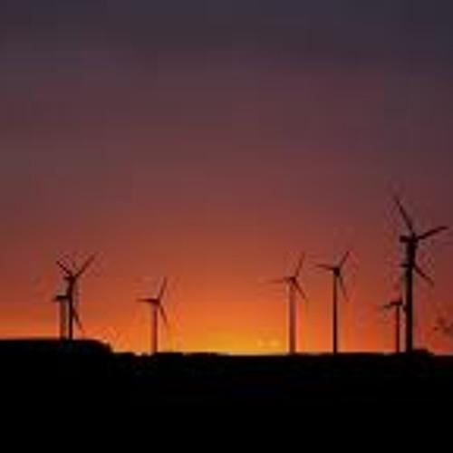 Japamala-Windmühlen Gewitter