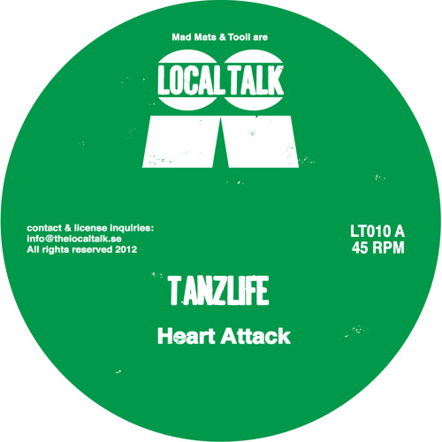 Tanzlife - Heart Attack (LT010, Side A)