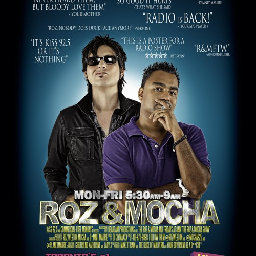 Kiss 92 5 Roz Amp Mocha Show Mocha Singing March 29 2012
