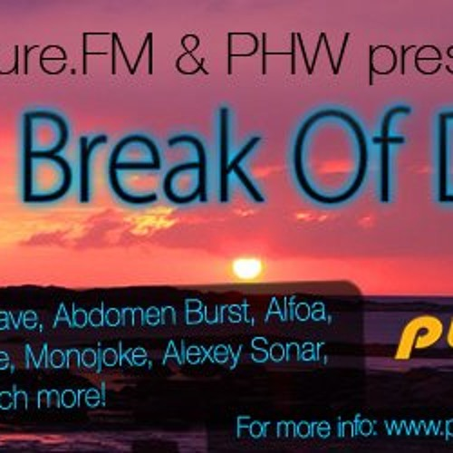Max Dillon - The Break Of Dawn [March 29-31 2012] on Pure.FM