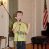 AJ Strack Sings National Anthem at Special Olympics
