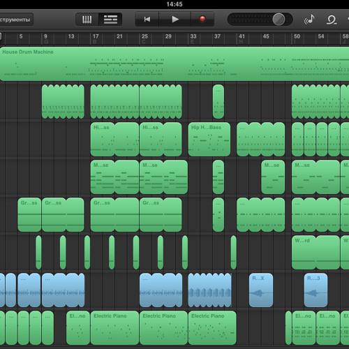 Sergeymeza - iPad session #1 (garageband)