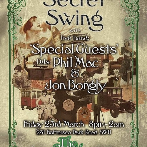Jon Bongly Secret Swing March 2012