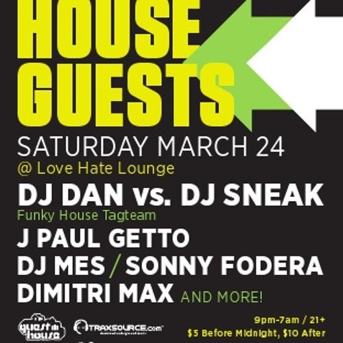 DJ Sneak Live @ House Guests WMC 2012