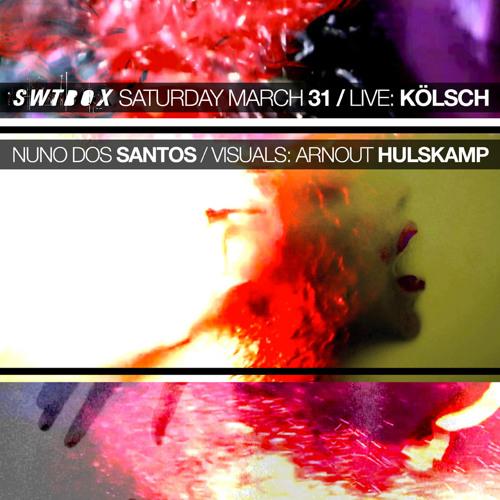 Nuno Dos Santos / SWTBOX 1 @ Trouw Amsterdam (31-03-2012)
