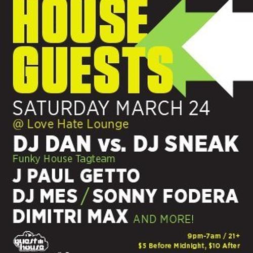 DJ Mes Live @ House Guests WMC 2012
