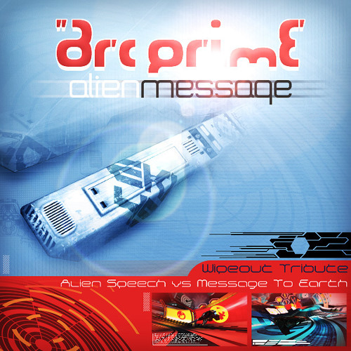 Alien Message - Arc Prime (White)