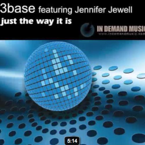 3Base Featuring Jennifer Jewell - Just The Way-It Is - Kin@ix Mix