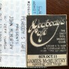 james mcmurtry - painting by numbers (peabodys cafe 10/11/92)