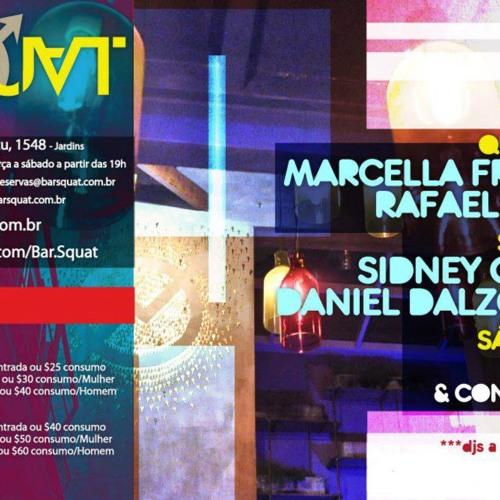 DJ DD live @ Squat Bar, SP - 09.03.2012