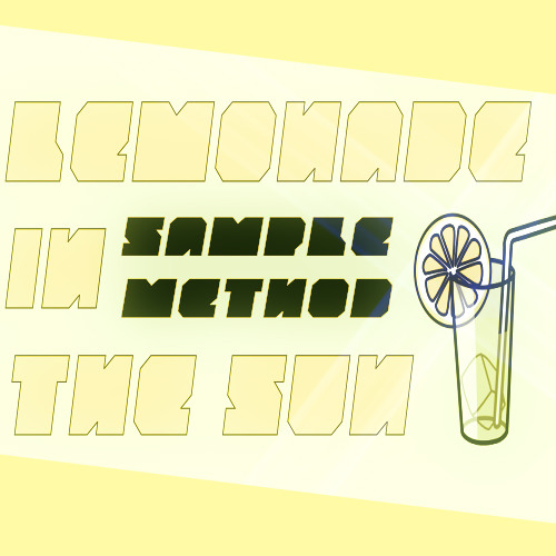 Lemonade In The Sun