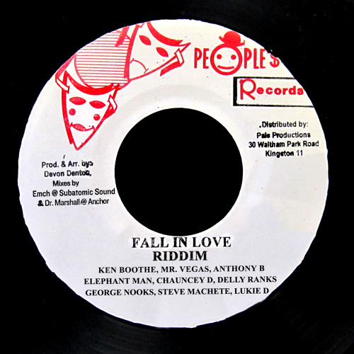 """Ken Boothe, Mr. Vegas, Anthony B """"When I Fall In Love"""" preview excerpt"""