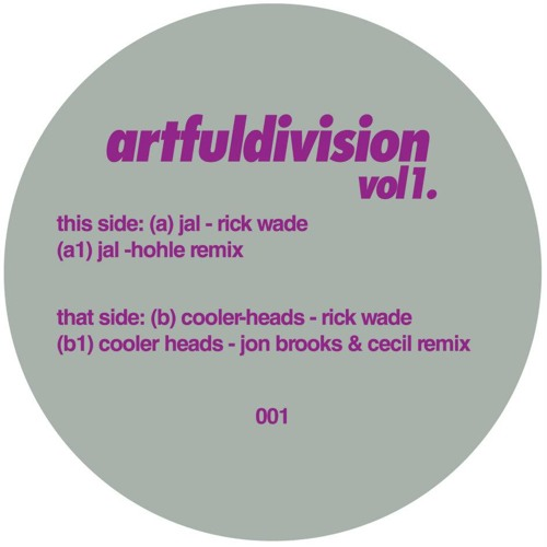 AD001: Rick Wade - Cooler Heads (Jon Brooks & Cecil Remix)