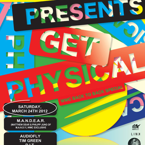 M.A.N.D.E.A.R live @ Get Physical at TreeHouse Miami 2012