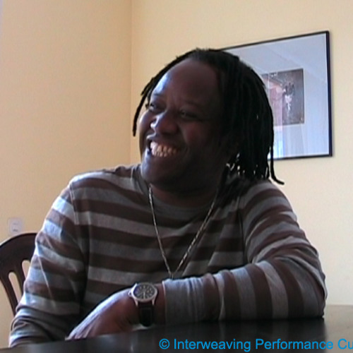Interview with Souleymane Mbodj.  © Gastón A. Alzate, Interweaving Performance Cultures, 2011.