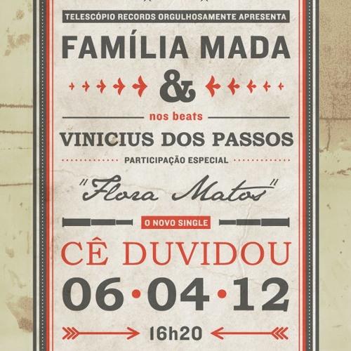 Familia Mada - Cê duvidou (Prod. Vinicius dos Passos)