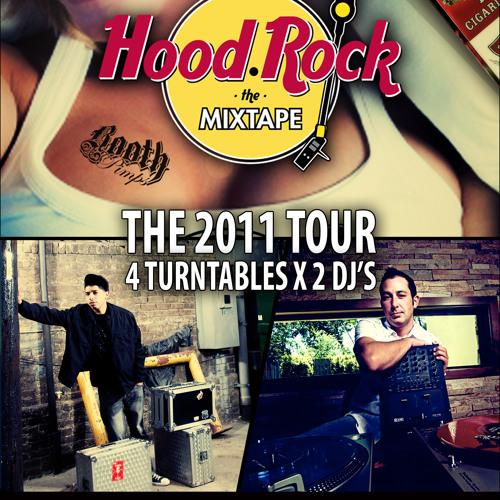 DJ Rapid RIc and Kyle Berg present - HoodRock the mixtape