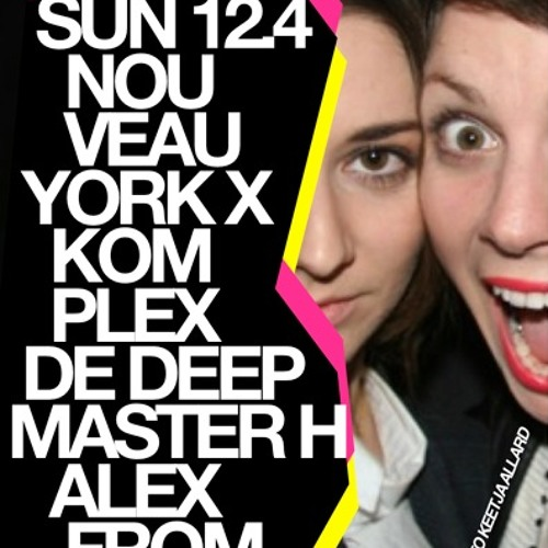 Master-H & Alex from Tokyo Live@ Le Bain NYC 4-12-11