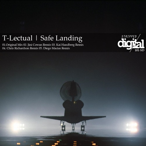 TLectual - Safe Landing (Diego Macias Remix Clip) [Stripped Digital]