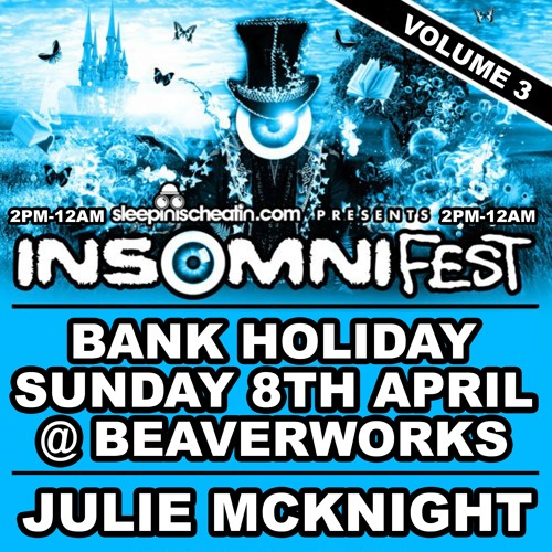 INSOMNI-FEST Volume 3 | Mixed By SAS
