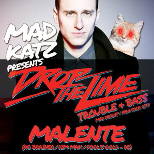 Malente Promomix for Mad Katz 8.4.2012 at Exil, Zurich