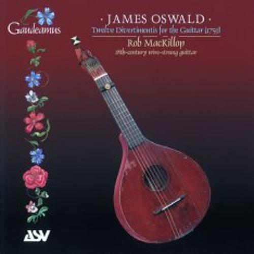 Twelve Divertimentis For Guittar - James Oswald 1759