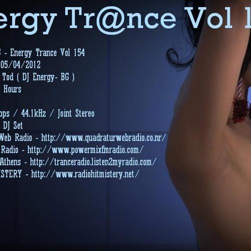 Pencho Tod ( DJ Energy- BG ) - Energy Trance Vol 154