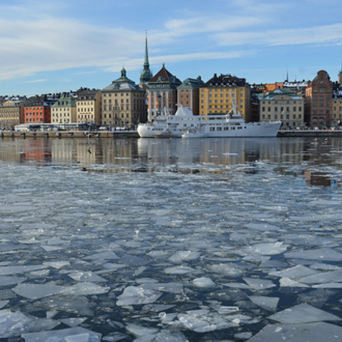 Ice Orchestra in Stockholm