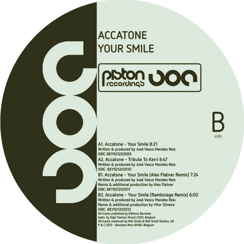 Accatone - Your Smile (Ramboiage Remix)