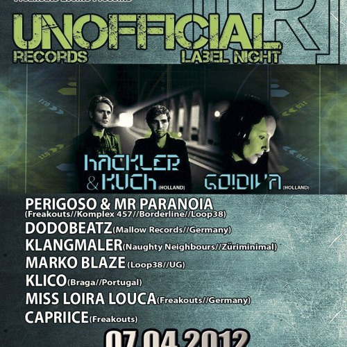 GO!DIVA Live @ Unofficial Records Labelnight at Loop38