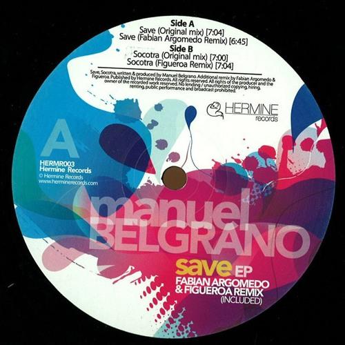 Manuel Belgrano - Socotra [Hermine Records 003] - VINYL & DIGITAL