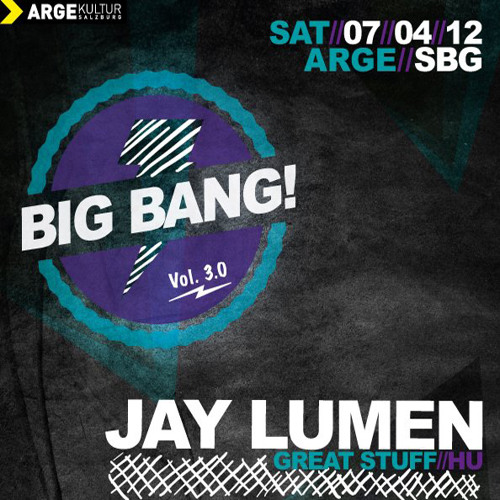 Jay Lumen live at Big Bang! (Arge Kultur) / Salzburg Austria / 7th april 2012
