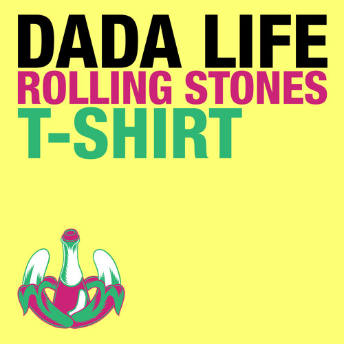 Dada Life - Rolling Stones T-Shirt PREVIEW