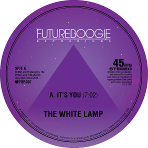 The White Lamp : It's You : Ron Basejam Remix [Futureboogie Recs] - clip
