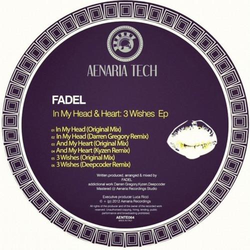Fadel - In My Head (Original Mix Cut Preview) Soon Out on [AENARIA MUSIC]