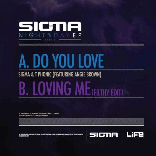 SIGMA & T-PHONIC (Feat  ANGIE BROWN) DO YOU LOVE 80S RADIO EDIT