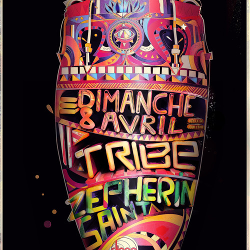 Zepherin Saint Live at Tribe , Djoon Paris April 8th 2012