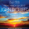 11th Annual Sunset Cruise with John Digweed, Nick Warren, jozif & Denis A