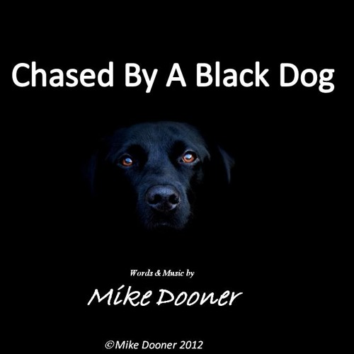 Chased By A Black Dog