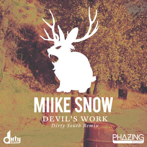 Miike Snow - Devil's Work (Dirty South Remix) Live on Radio 1