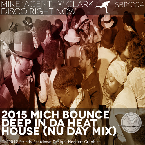 Disco Right Now EP Promo 2012 by Mike Agent X Clark (mixed by DJ Mark Johnson, UK)