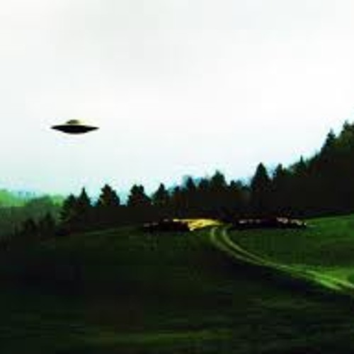 Prettyful UFOs Flying Over The Countryside