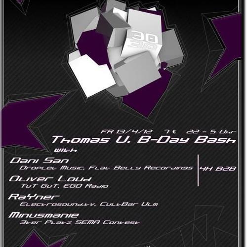 Minusmanie @ Club Relax (Ulm) 13.04.12
