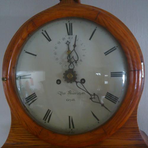 Grandfather Clock Ticking Away