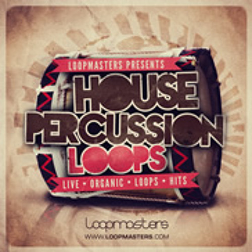 House Percussion Loops